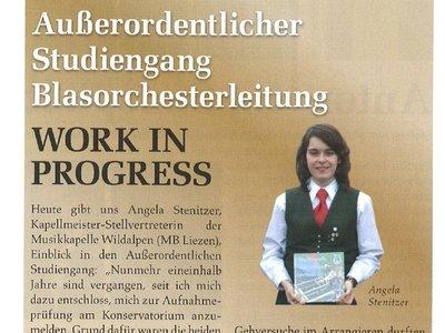 Interview Angela Stenitzer 2o15
