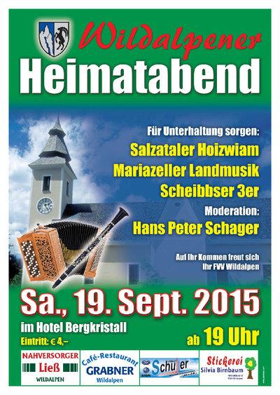 Wildalpner Heimatabend 2015