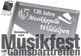 130 Jahre Musikkapelle Wildalpen