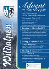 Advent in den Bergen 2015